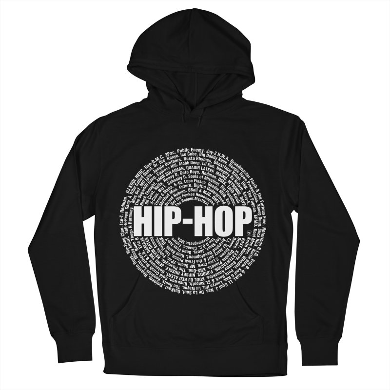 HIP-HOP SURROUNDED BY THE MC'S WHOSE ORBITED AND INFLUENCED THE CULTURE Men's Pullover Hoody by Buckeen