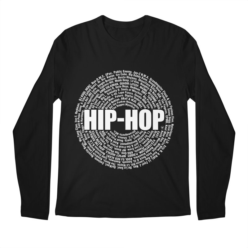 HIP-HOP SURROUNDED BY THE MC'S WHOSE ORBITED AND INFLUENCED THE CULTURE Men's Longsleeve T-Shirt by Buckeen