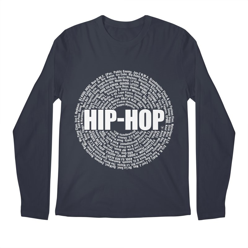 HIP-HOP SURROUNDED BY THE MC'S WHOSE ORBITED AND INFLUENCED THE CULTURE Men's Regular Longsleeve T-Shirt by Buckeen