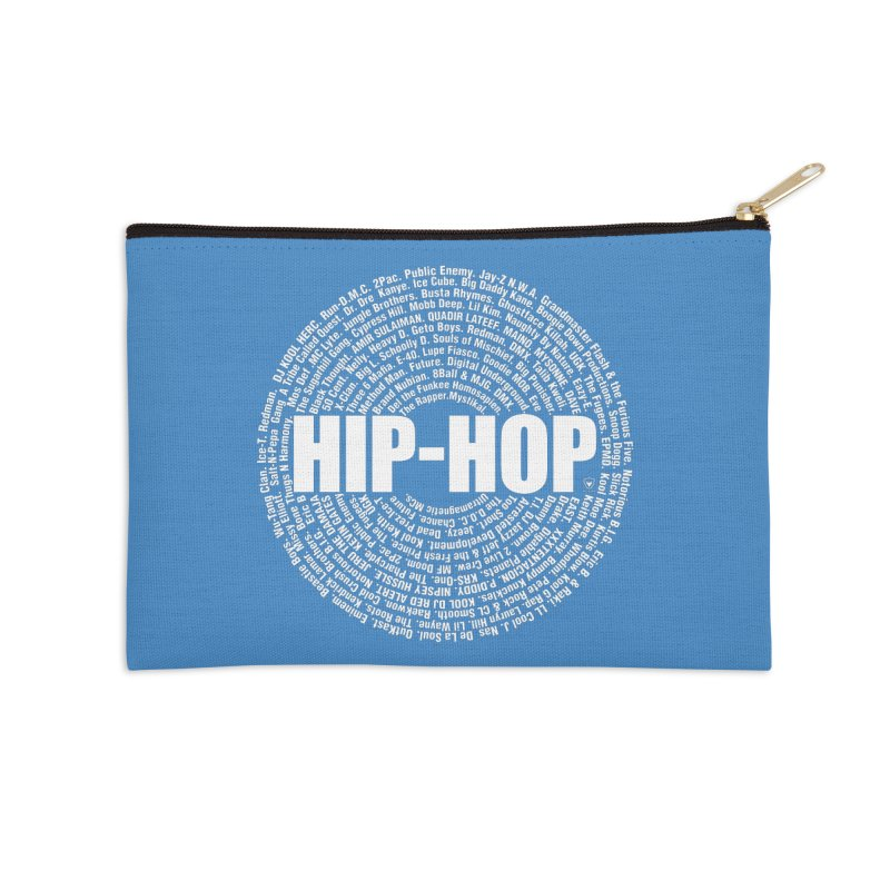 HIP-HOP SURROUNDED BY THE MC'S WHOSE ORBITED AND INFLUENCED THE CULTURE Accessories Zip Pouch by Buckeen