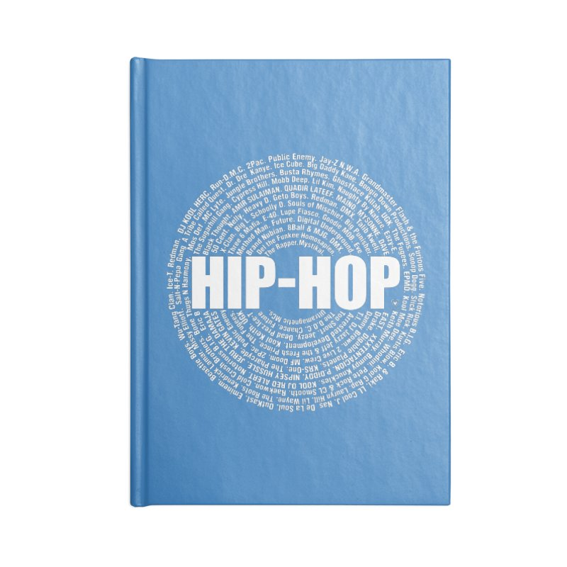 HIP-HOP SURROUNDED BY THE MC'S WHOSE ORBITED AND INFLUENCED THE CULTURE Accessories Notebook by Buckeen