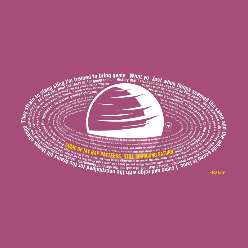 Rap Patterns Around Saturn by Buckeen