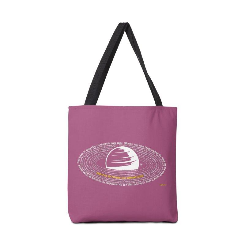 Rap Patterns Around Saturn Accessories Bag by Buckeen