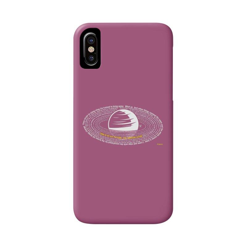 Rap Patterns Around Saturn Accessories Phone Case by Buckeen