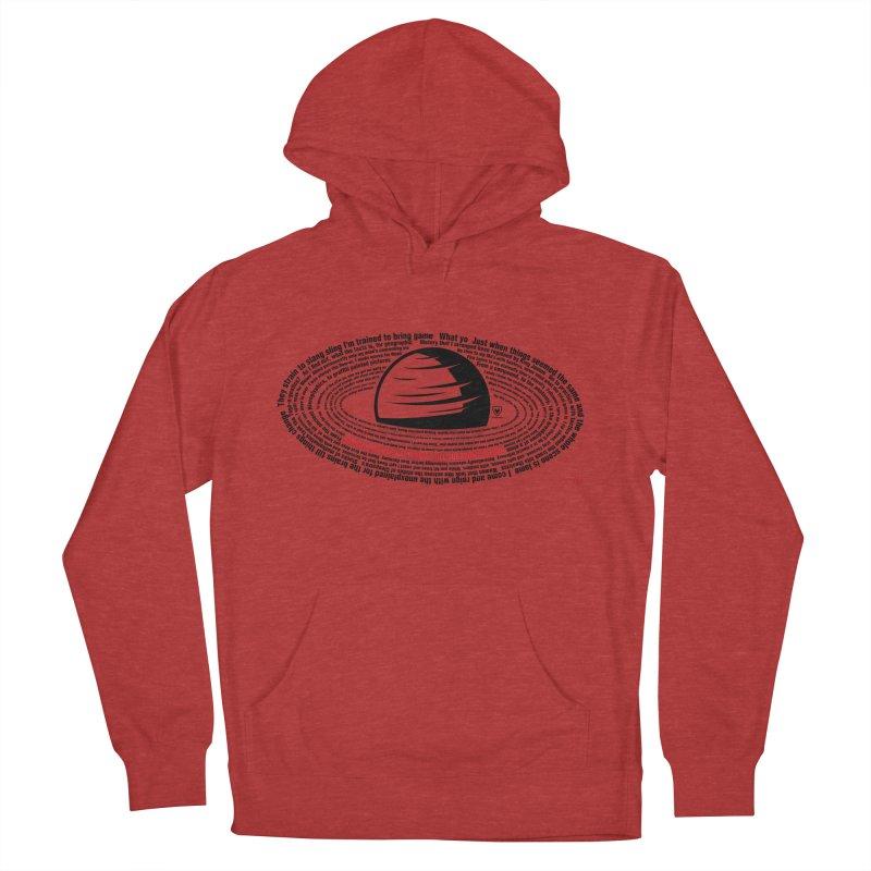 Rakim-Rap Patterns Around Saturn Men's Pullover Hoody by Buckeen