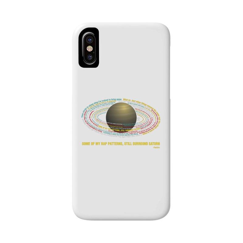 Rakim's Rap Patterns Around Saturn Accessories Phone Case by Buckeen