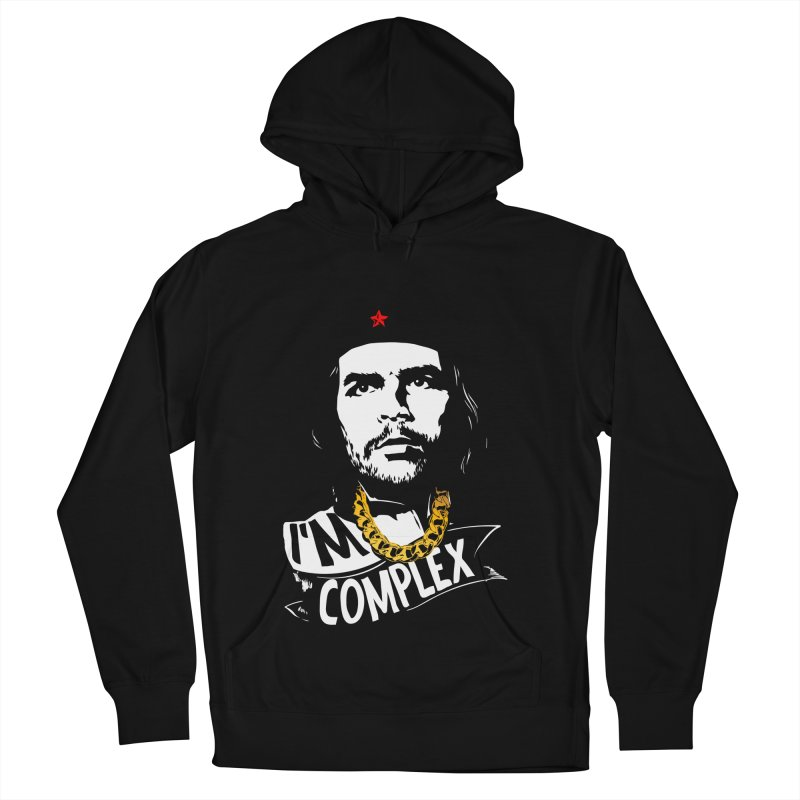 I'M COMPLEX Men's French Terry Pullover Hoody by Buckeen