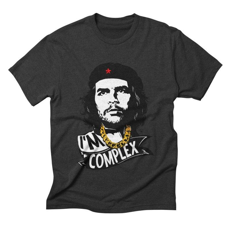 I'M COMPLEX Men's Triblend T-Shirt by Buckeen