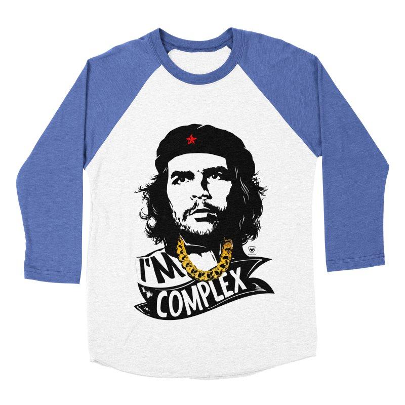 I'M COMPLEX Women's Baseball Triblend Longsleeve T-Shirt by Buckeen