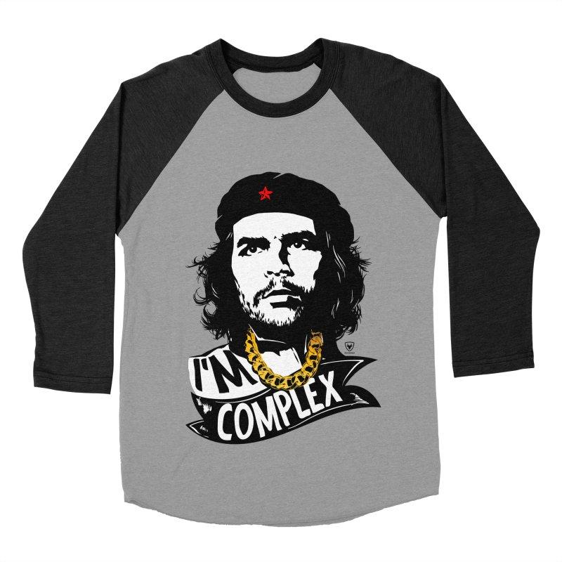 I'M COMPLEX Women's Baseball Triblend T-Shirt by Buckeen