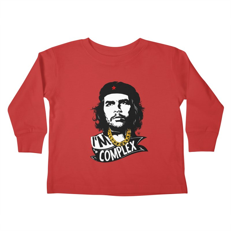 I'M COMPLEX Kids Toddler Longsleeve T-Shirt by Buckeen