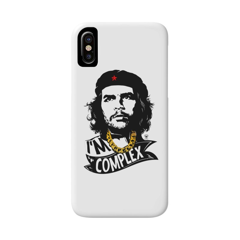 I'M COMPLEX Accessories Phone Case by Buckeen
