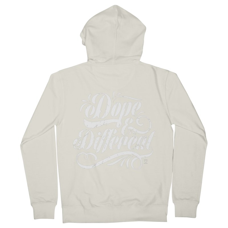 Dope & Different Women's French Terry Zip-Up Hoody by Buckeen