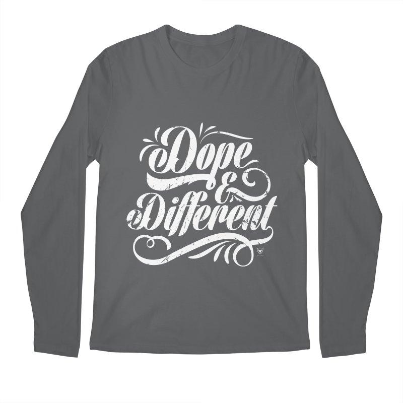 Dope & Different Men's Regular Longsleeve T-Shirt by Buckeen