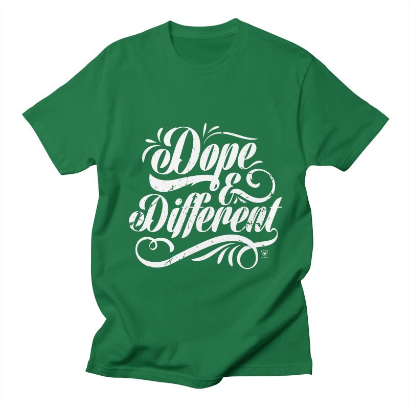 Dope & Different Men's Regular T-Shirt by Buckeen