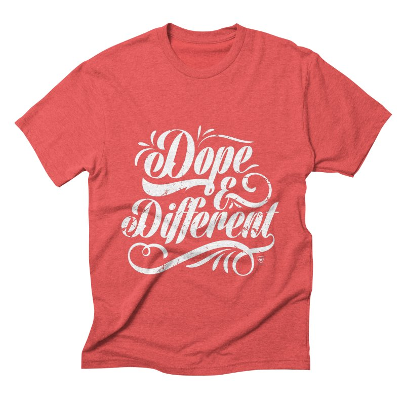 Dope & Different Men's Triblend T-Shirt by Buckeen