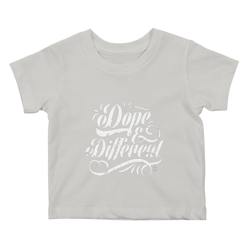 Dope & Different Kids Baby T-Shirt by Buckeen