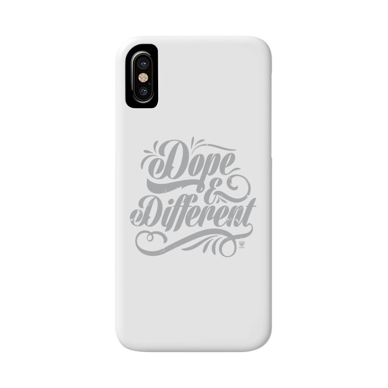 DOPE & DIFFERENT Accessories Phone Case by Buckeen
