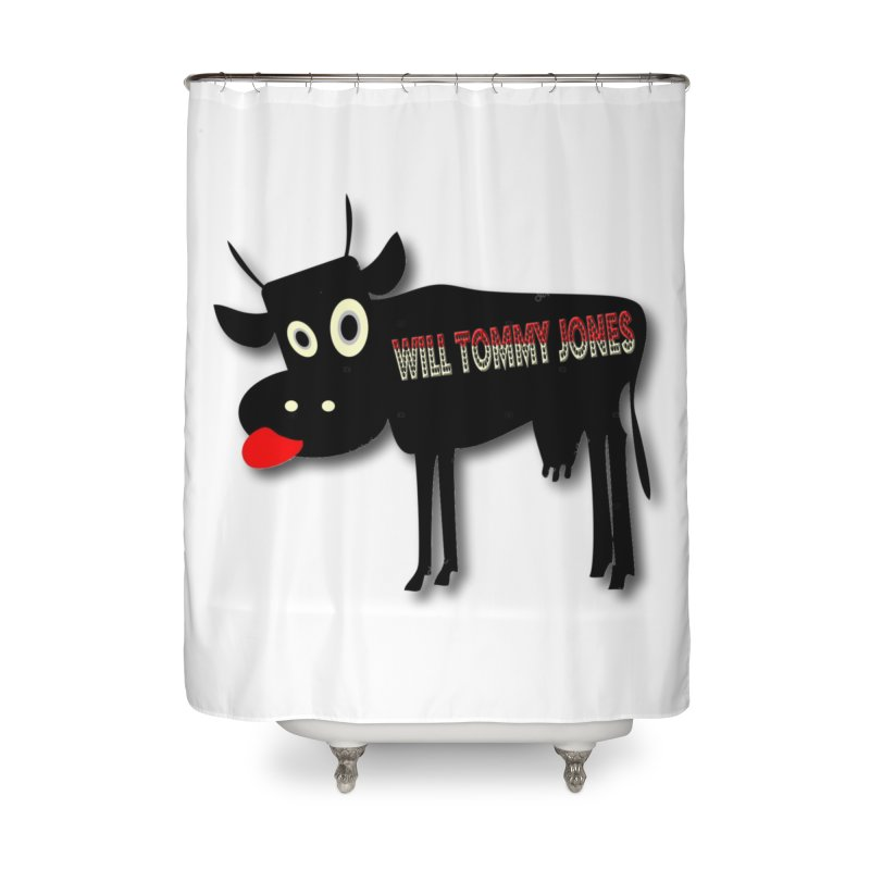 WTJ logo items Home Shower Curtain by Will's Buckin' Stuff