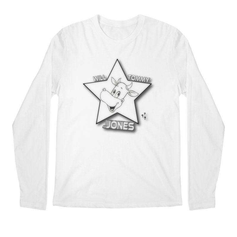 Will's Star products Men's Longsleeve T-Shirt by Will's Buckin' Stuff