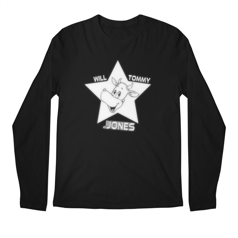 Will's Star products Men's Regular Longsleeve T-Shirt by Will's Buckin' Stuff