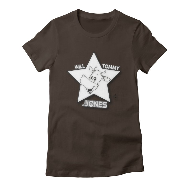 Will's Star products Women's Fitted T-Shirt by Will's Buckin' Stuff