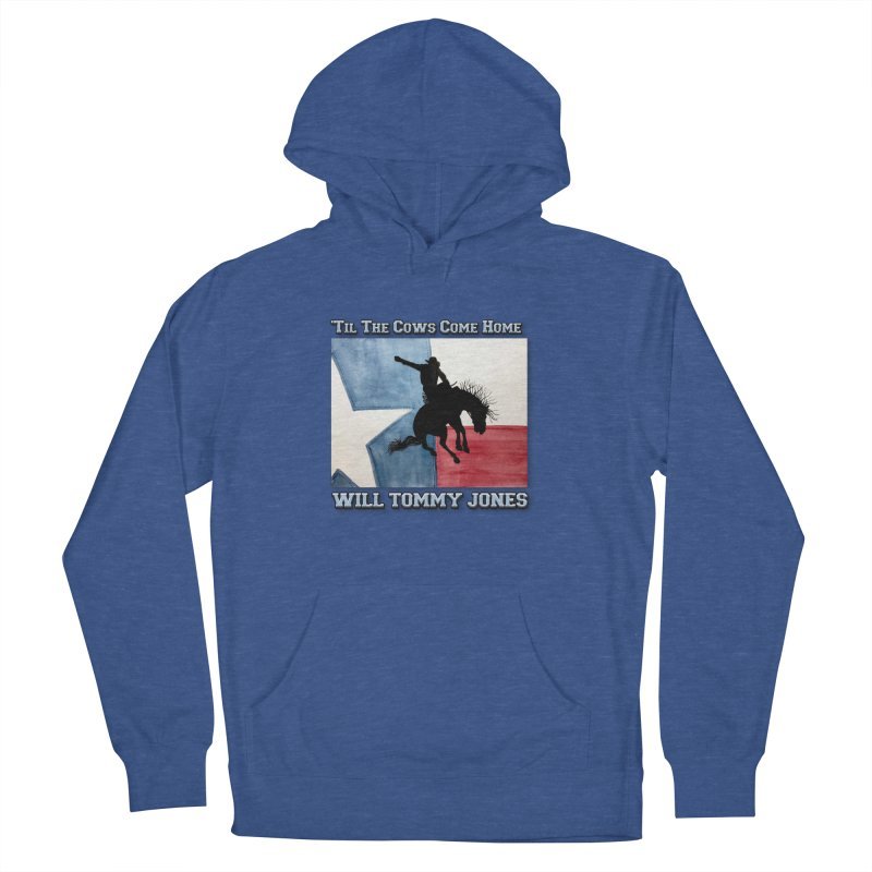 Will's Classic Hit Tee Women's French Terry Pullover Hoody by Will's Buckin' Stuff