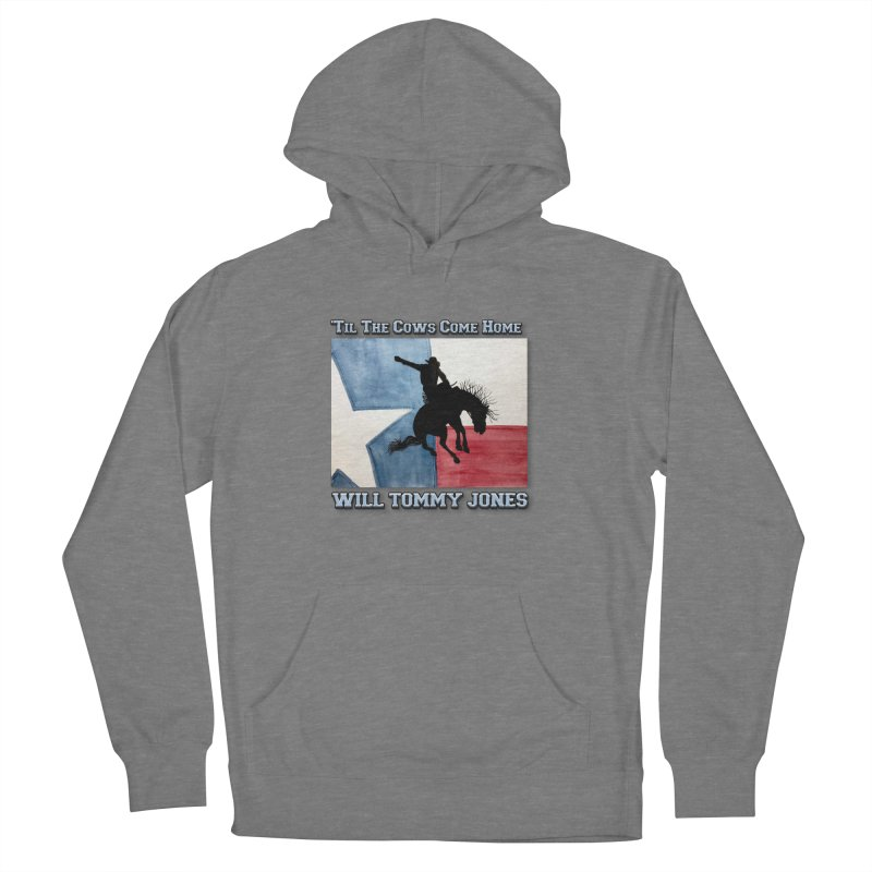 Will's Classic Hit Tee Men's French Terry Pullover Hoody by Will's Buckin' Stuff