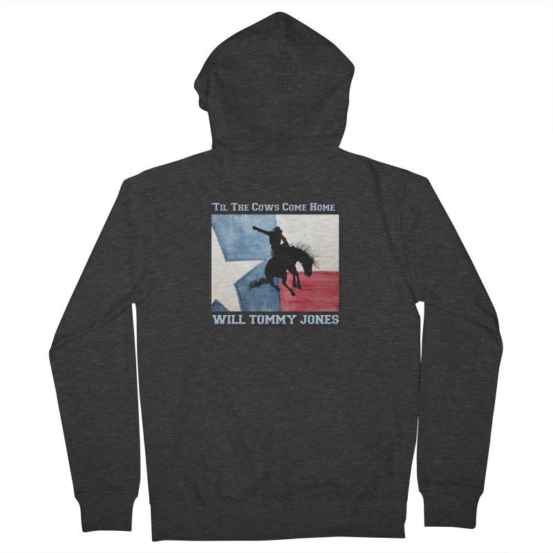 Will's Classic Hit Tee Men's French Terry Zip-Up Hoody by Will's Buckin' Stuff