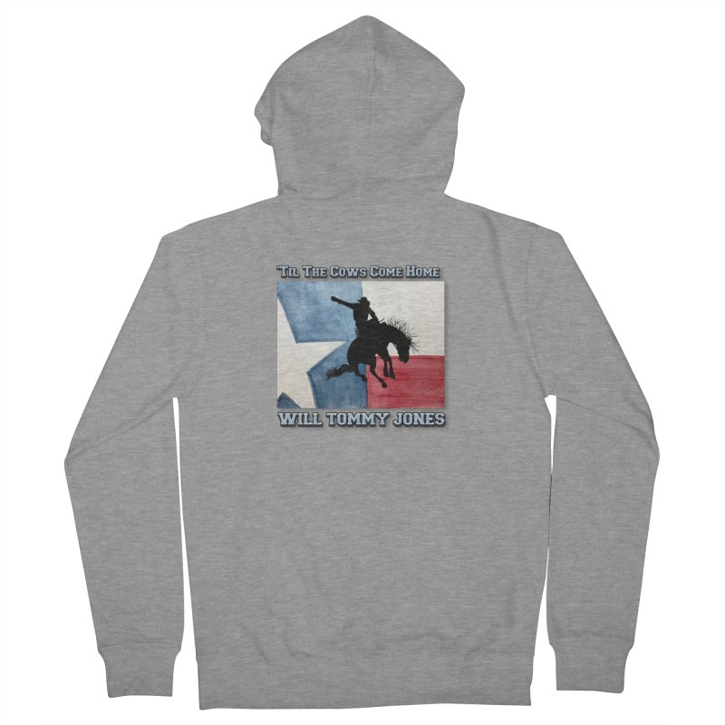 Will's Classic Hit Tee Men's French Terry Zip-Up Hoody by Will's Buckin' Stuff