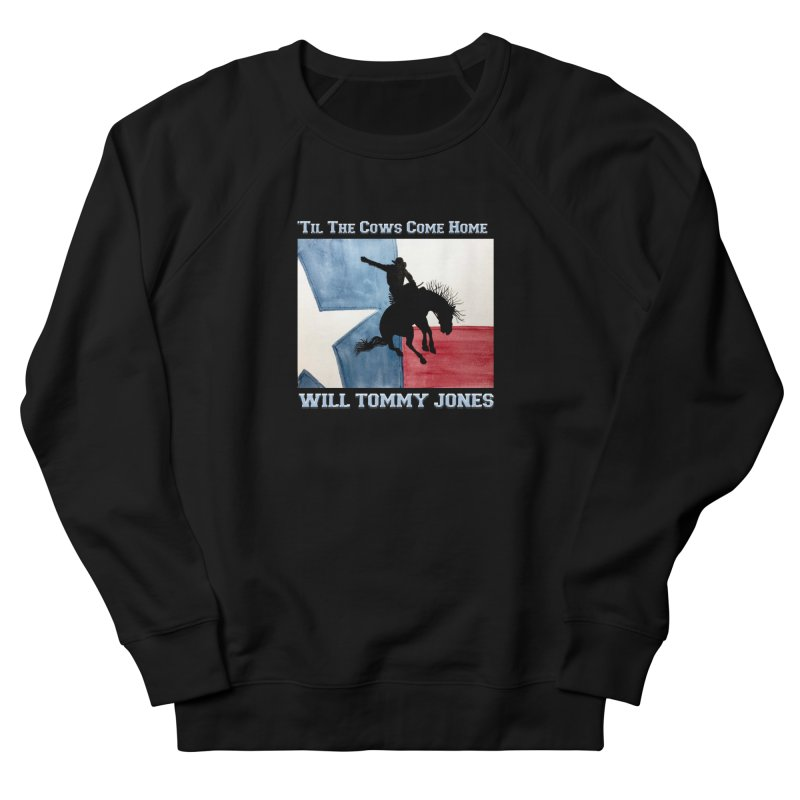 Will's Classic Hit Tee Men's French Terry Sweatshirt by Will's Buckin' Stuff