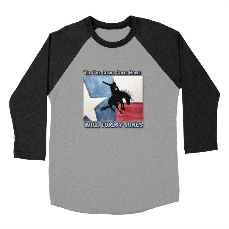 Will's Classic Hit Tee Women's Baseball Triblend Longsleeve T-Shirt by Will's Buckin' Stuff