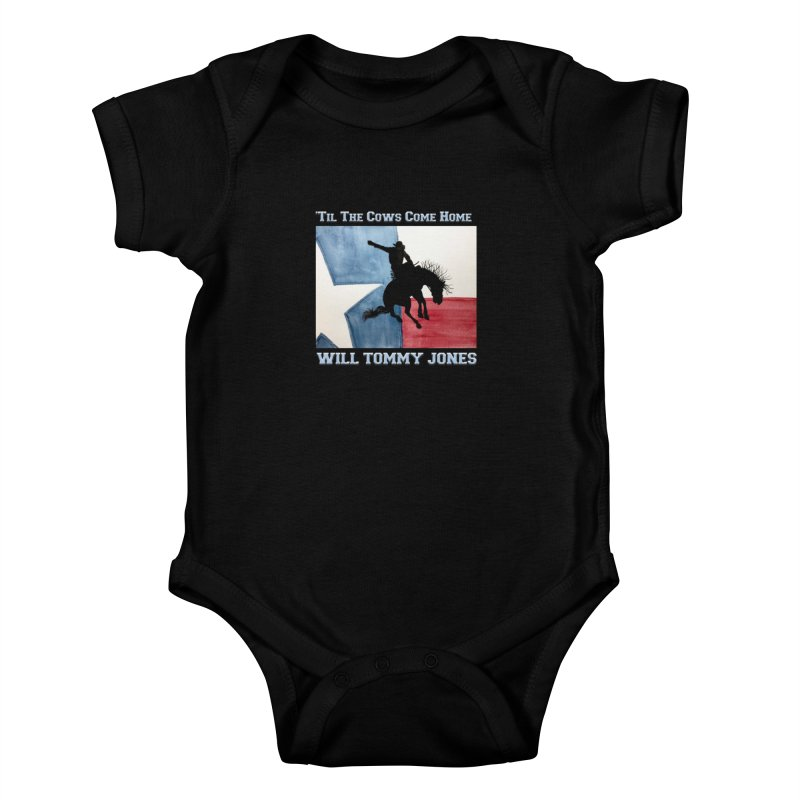 Will's Classic Hit Tee Kids Baby Bodysuit by Will's Buckin' Stuff