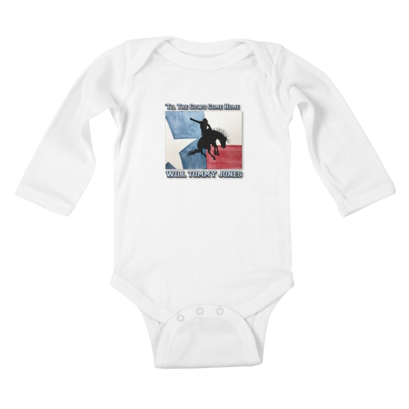 Will's Classic Hit Tee Kids Baby Longsleeve Bodysuit by Will's Buckin' Stuff