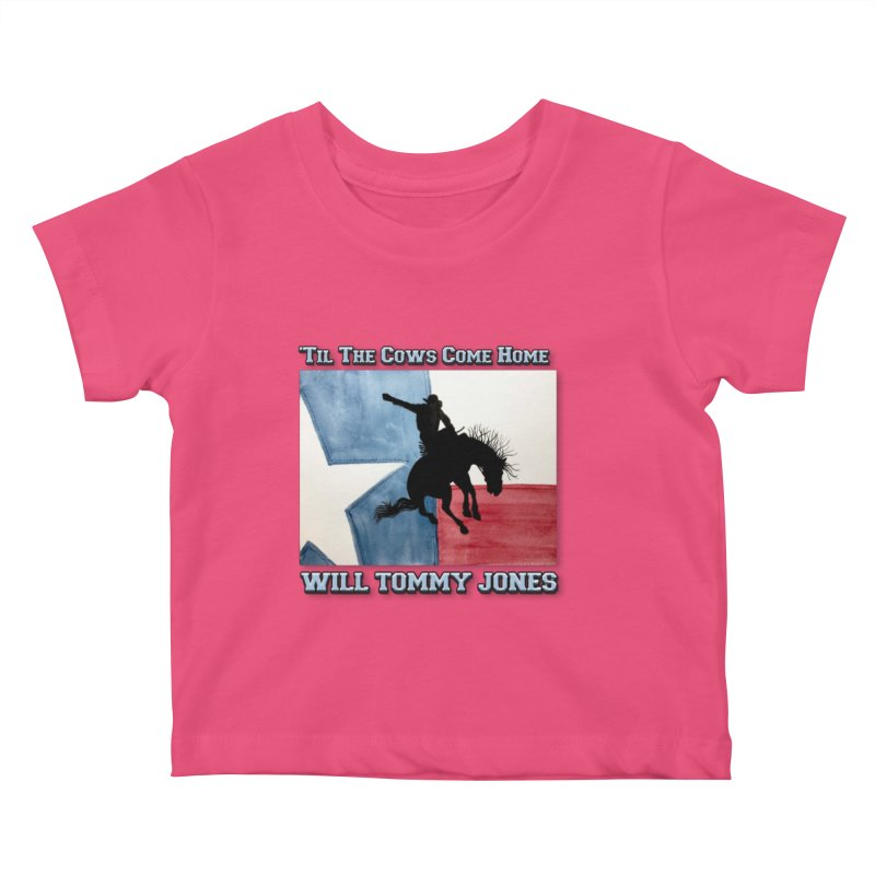 Will's Classic Hit Tee Kids Baby T-Shirt by Will's Buckin' Stuff