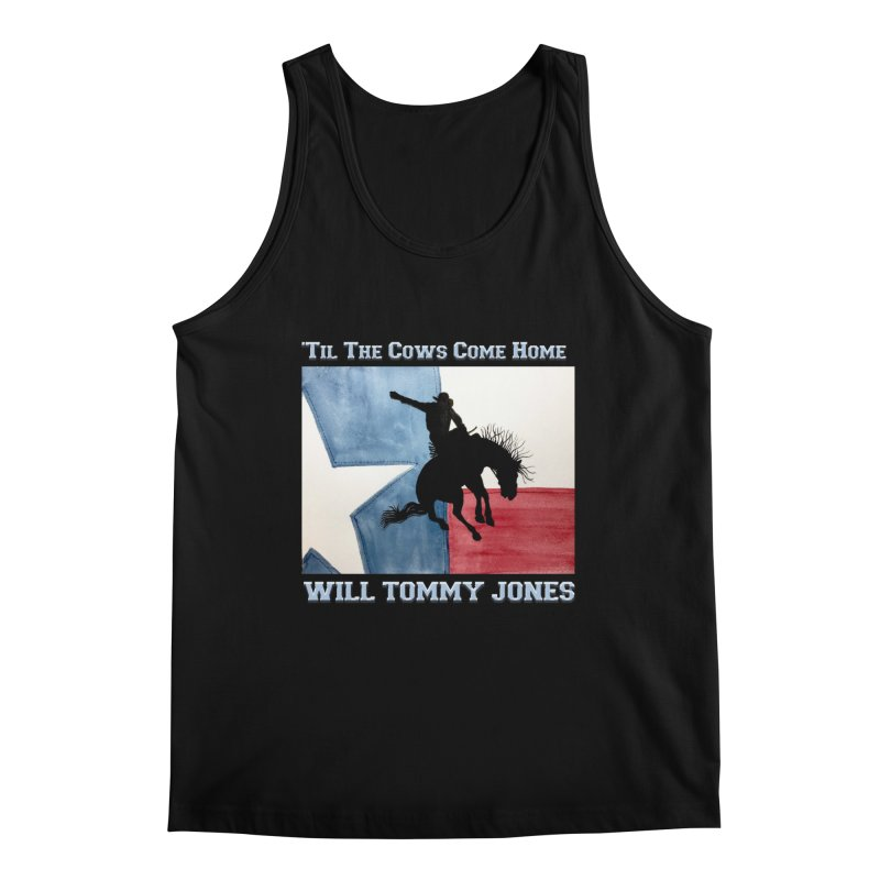 Will's Classic Hit Tee Men's Tank by Will's Buckin' Stuff