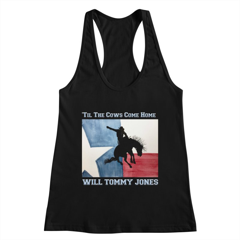 Will's Classic Hit Tee Women's Racerback Tank by Will's Buckin' Stuff