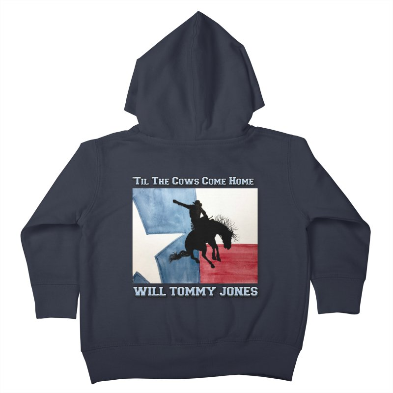 Will's Classic Hit Tee Kids Toddler Zip-Up Hoody by Will's Buckin' Stuff
