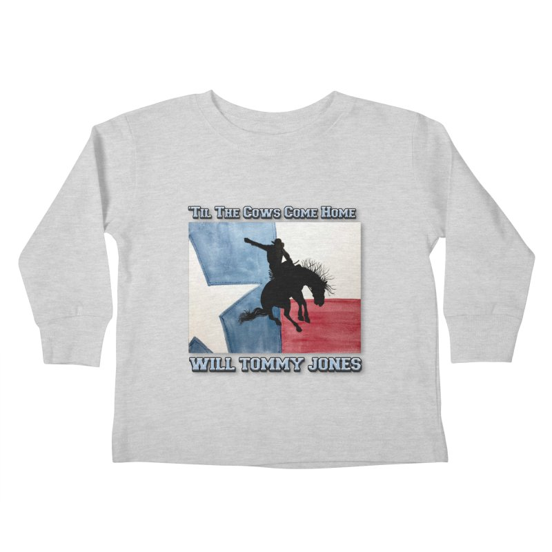 Will's Classic Hit Tee Kids Toddler Longsleeve T-Shirt by Will's Buckin' Stuff
