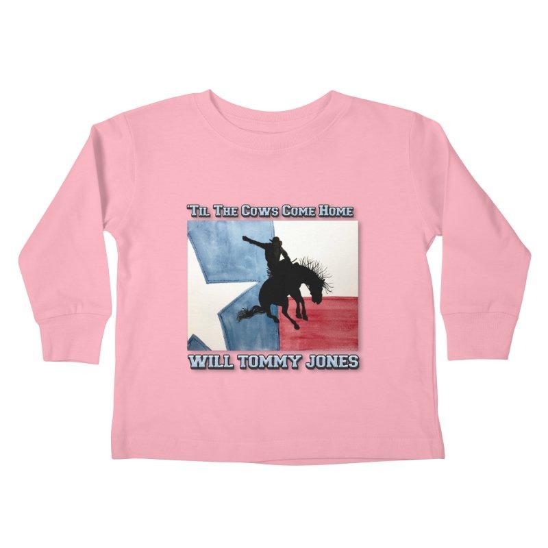 Will's Classic Hit Tee Kids Toddler Longsleeve T-Shirt by Will's Buckin' Stuff