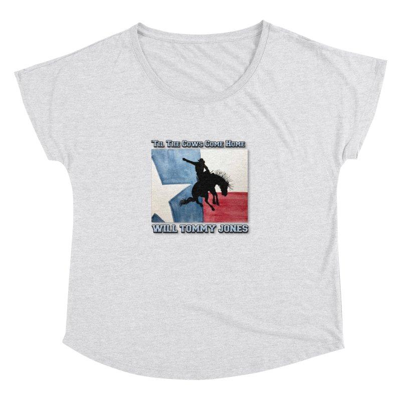 Will's Classic Hit Tee Women's Dolman Scoop Neck by Will's Buckin' Stuff