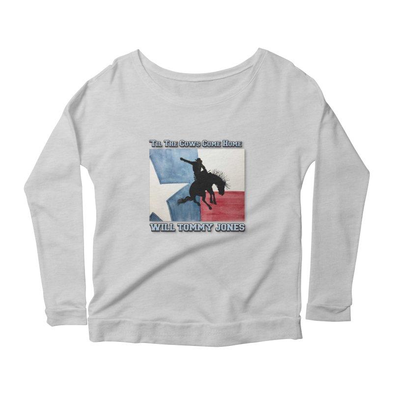 Will's Classic Hit Tee Women's Scoop Neck Longsleeve T-Shirt by Will's Buckin' Stuff