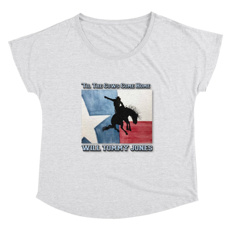 Will's Classic Hit Tee Women's Scoop Neck by Will's Buckin' Stuff