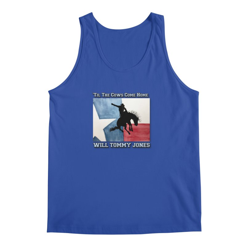 Will's Classic Hit Tee Men's Tank by Will's Buckin' Stuff