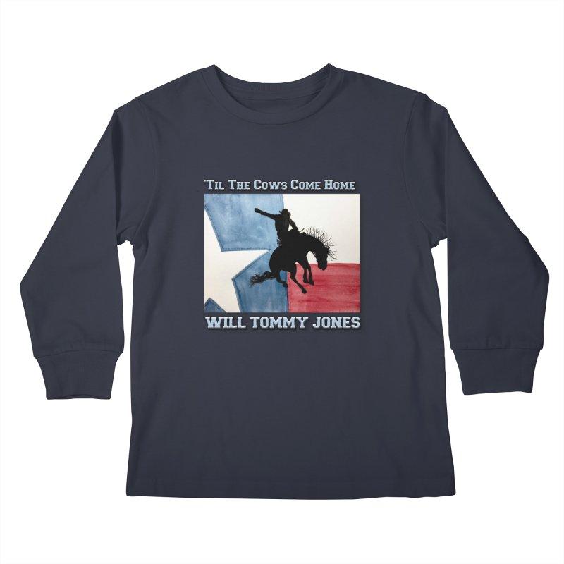 Will's Classic Hit Tee Kids Longsleeve T-Shirt by Will's Buckin' Stuff