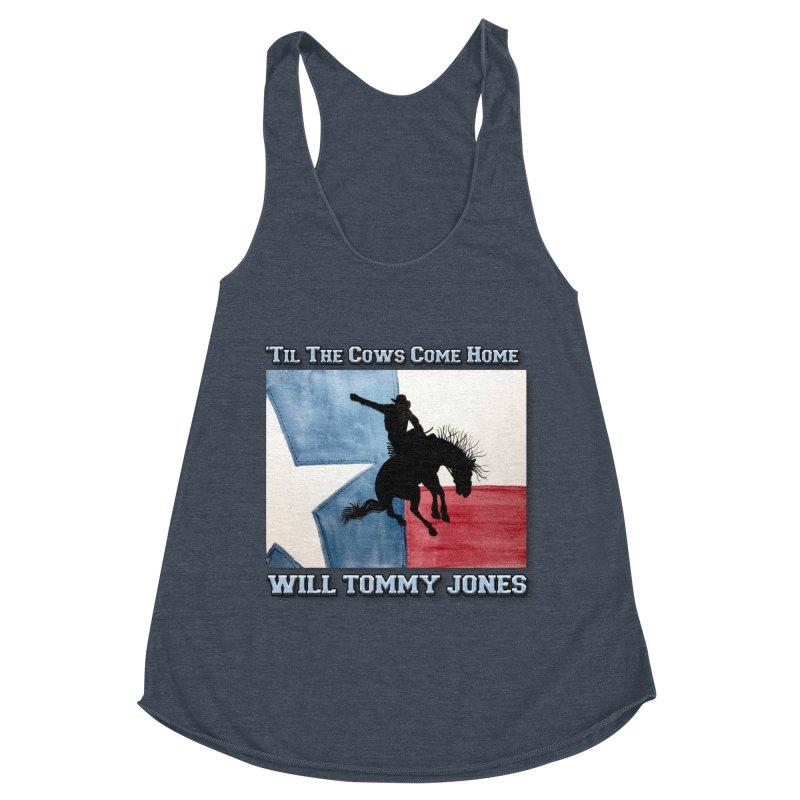 Will's Classic Hit Tee Women's Racerback Triblend Tank by Will's Buckin' Stuff