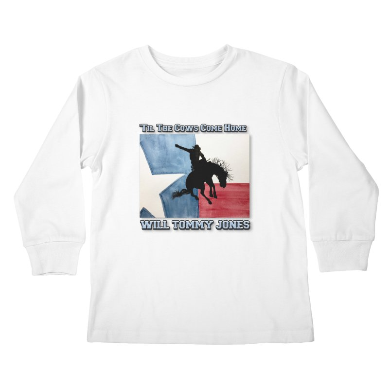 Will's Classic Hit Tee Kids Longsleeve T-Shirt by Will's Buckin' Stuff