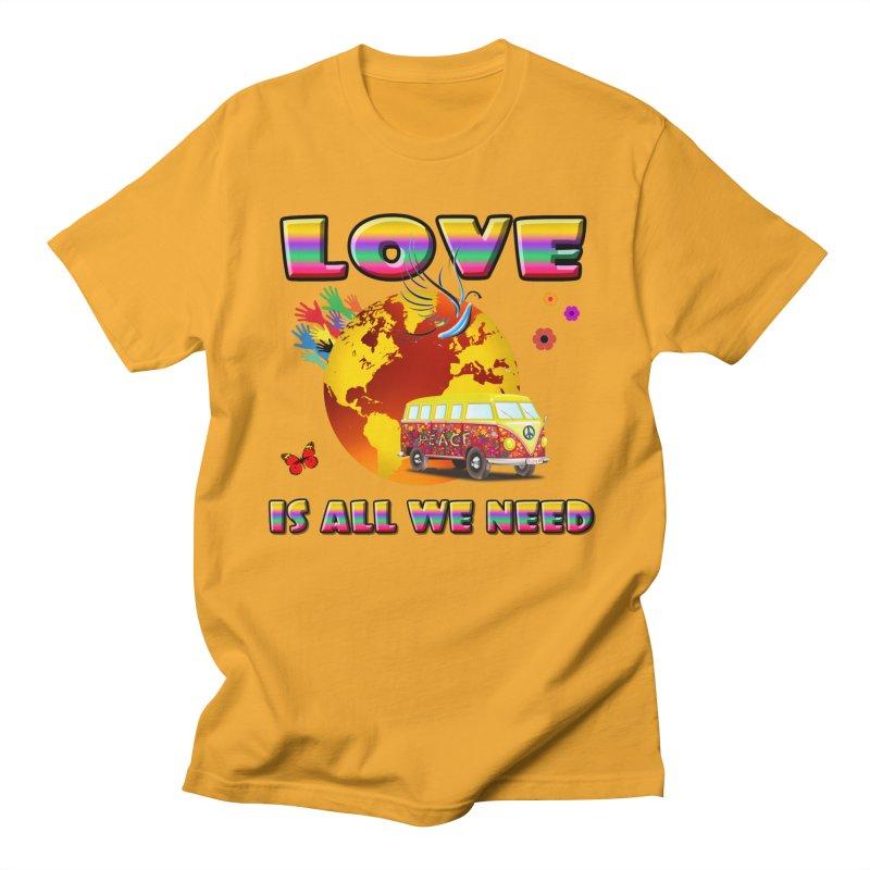 All We Need Men's T-Shirt by Will's Buckin' Stuff