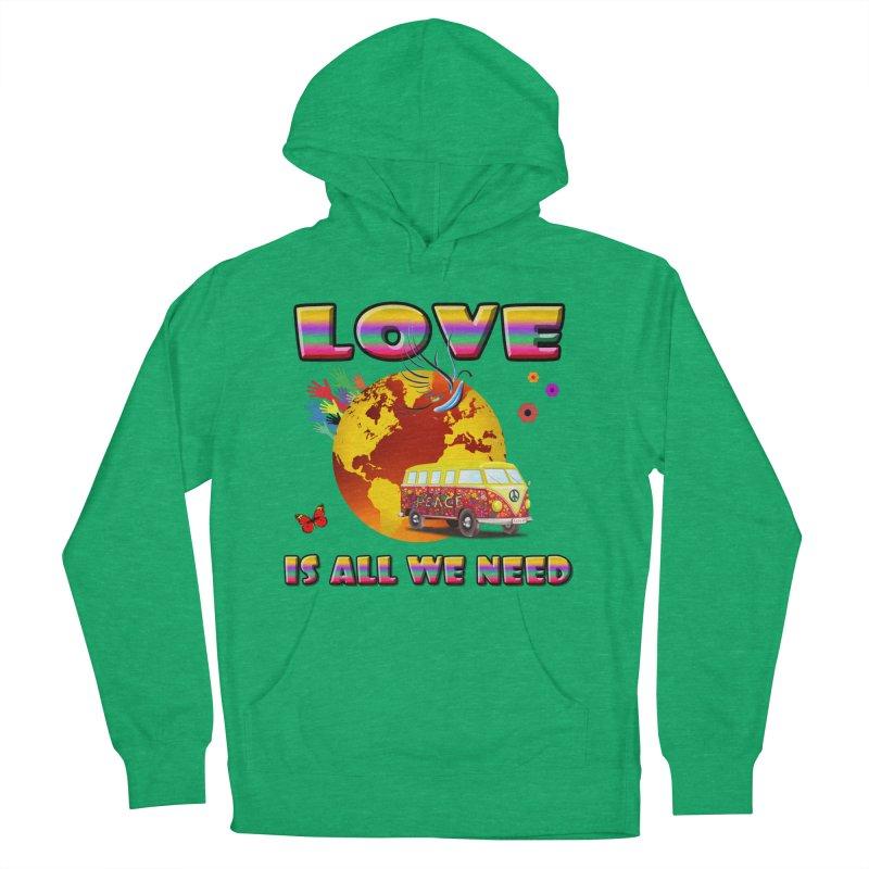 All We Need Women's Pullover Hoody by Will's Buckin' Stuff
