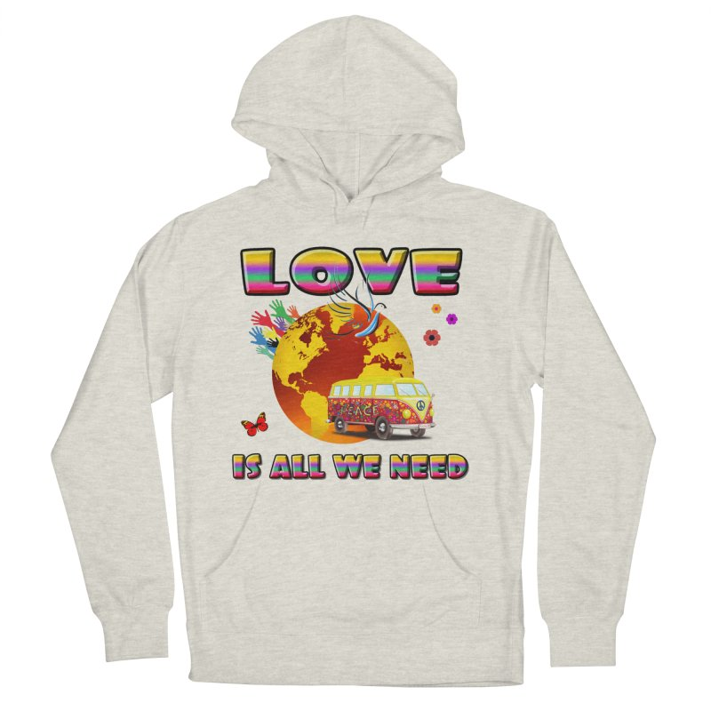 All We Need Women's French Terry Pullover Hoody by Will's Buckin' Stuff